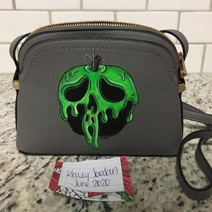 *THE VOIDEaD Hand Painted Poison Apple Purse Bag
